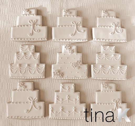 wedding cake christmas cookies cookies favours 22196
