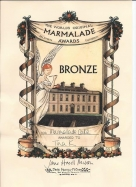 Bronze Award for our Seville Orange Marmalde Madeira Cake